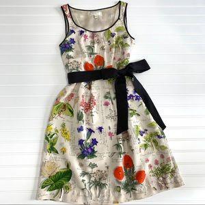 Moulinette Soeurs Tuileries Silk Floral Dress